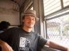 В вагоне ченнайской элетрички