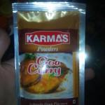 Goa Curry - традиционная гоанская пряная смесь Карри для приготовления острых соусов для курицы, мяса или рыбы. Стоимость 100р.