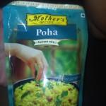 Poha (Поа) - индийские рисовые хлопья, которые можно употреблять для приготовления каш, десертов, закусок, острых блюд. Стоимость 100р.