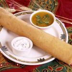 Доса (Dosa) - большой индийский блин, сделанный из манной крупы. Стоимость заготовки 100р.