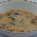 Суп из молодой кукурузы (baby corn soup) - нежный ароматный суп из молодой кукурузы с без острых специй. Стоимость заготовки 150р