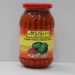 Пикл (Pickle) - традиционный индийский острый соус, сделанный из манго и перца чили. Вкус острый, сладкий, кисловатый - лучше один раз попробовать, чем сто раз услышать. Для истинных любителей по-острее. Стоимость банки 200р.